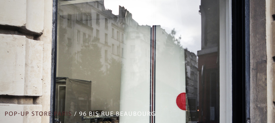 Pop-up store paris / 96 bis rue beaubourg