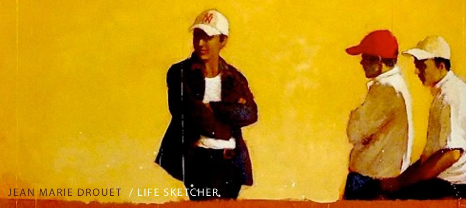 jean marie drouet life sketcher la vie sur les c tes life on shores. Black Bedroom Furniture Sets. Home Design Ideas