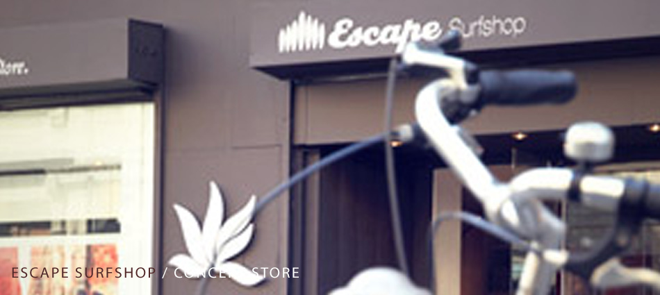 Escape surfshop : concept store