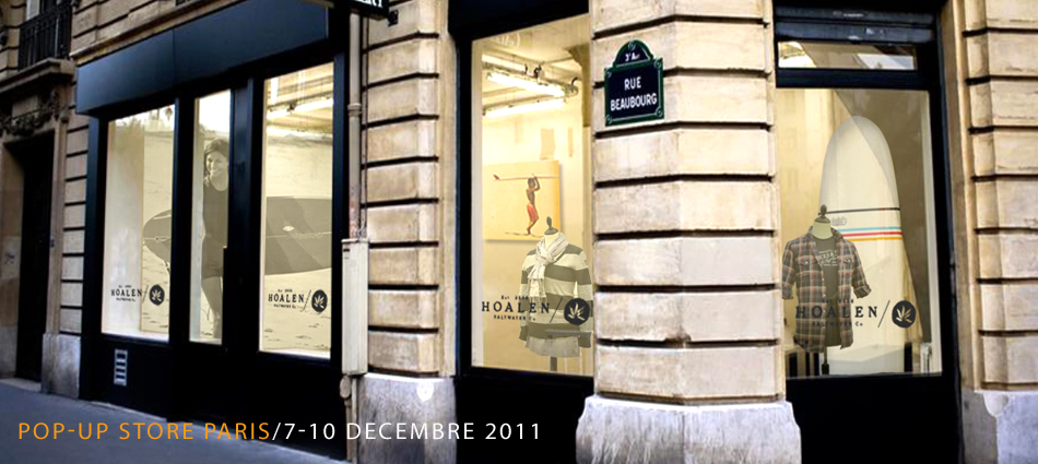 Pop-up store paris / 7-10 decembre 2011