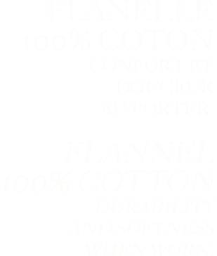 THE NEW FLANNEL Chemises en flanelle