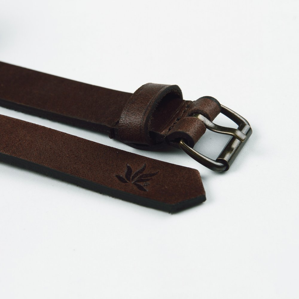 Heavy leather belt