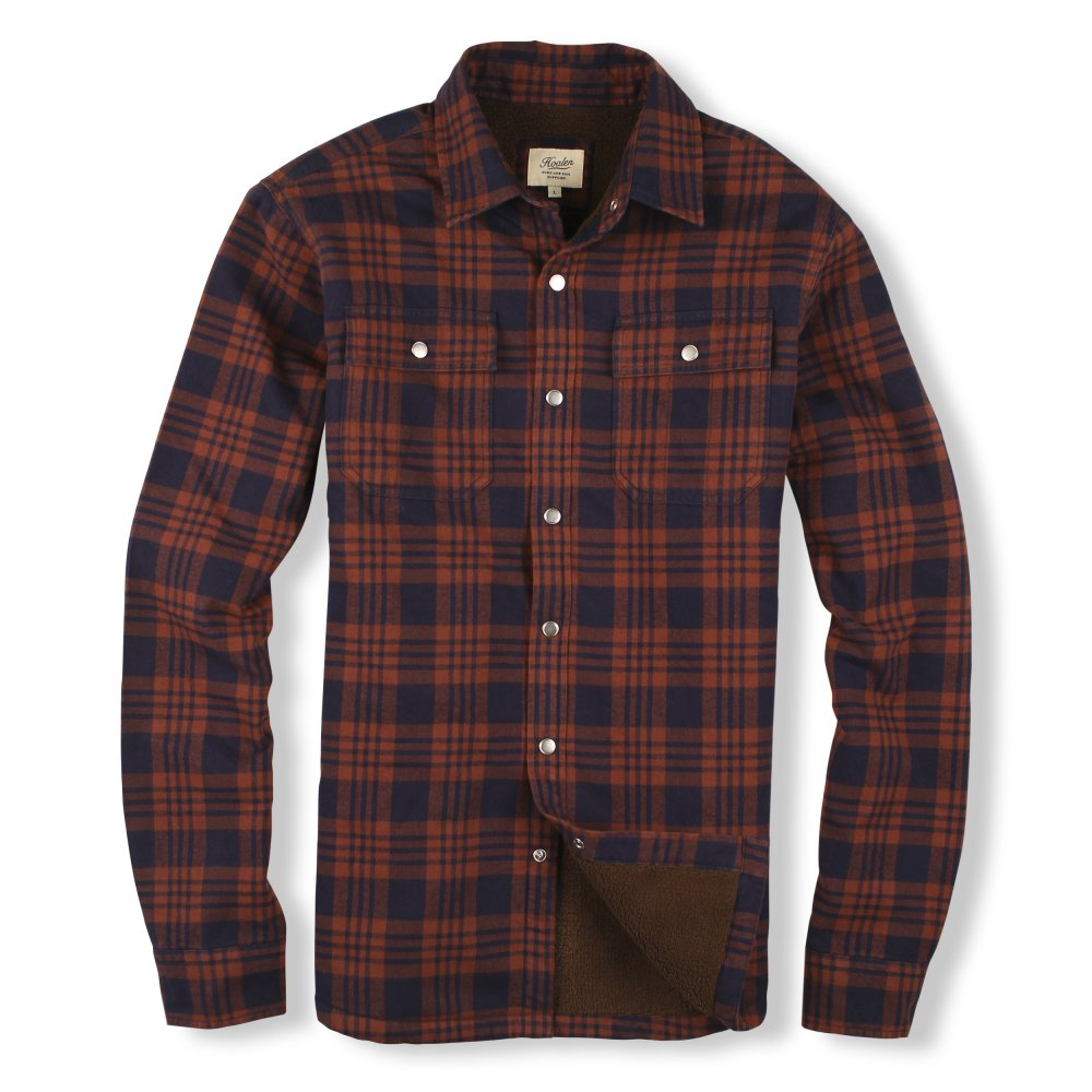 Fur lined flannel