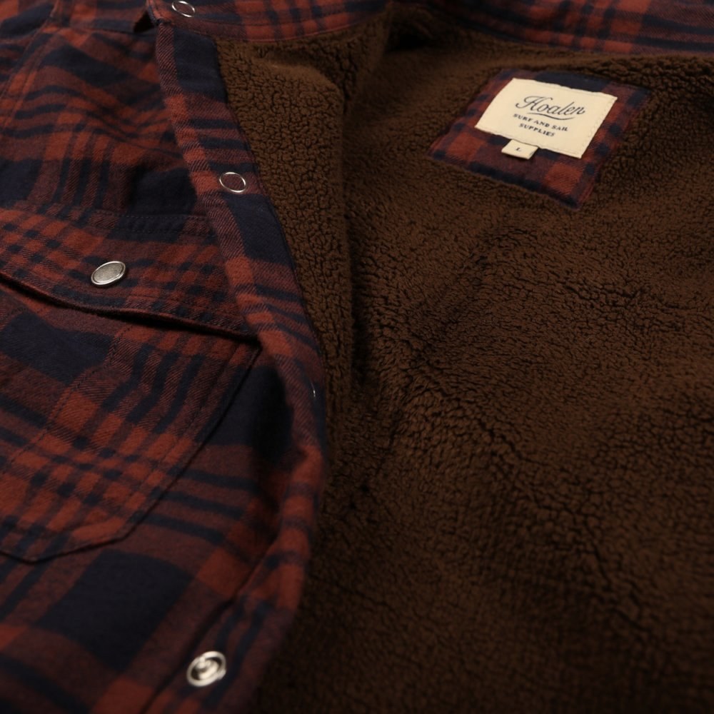 Fur lined over-shirt