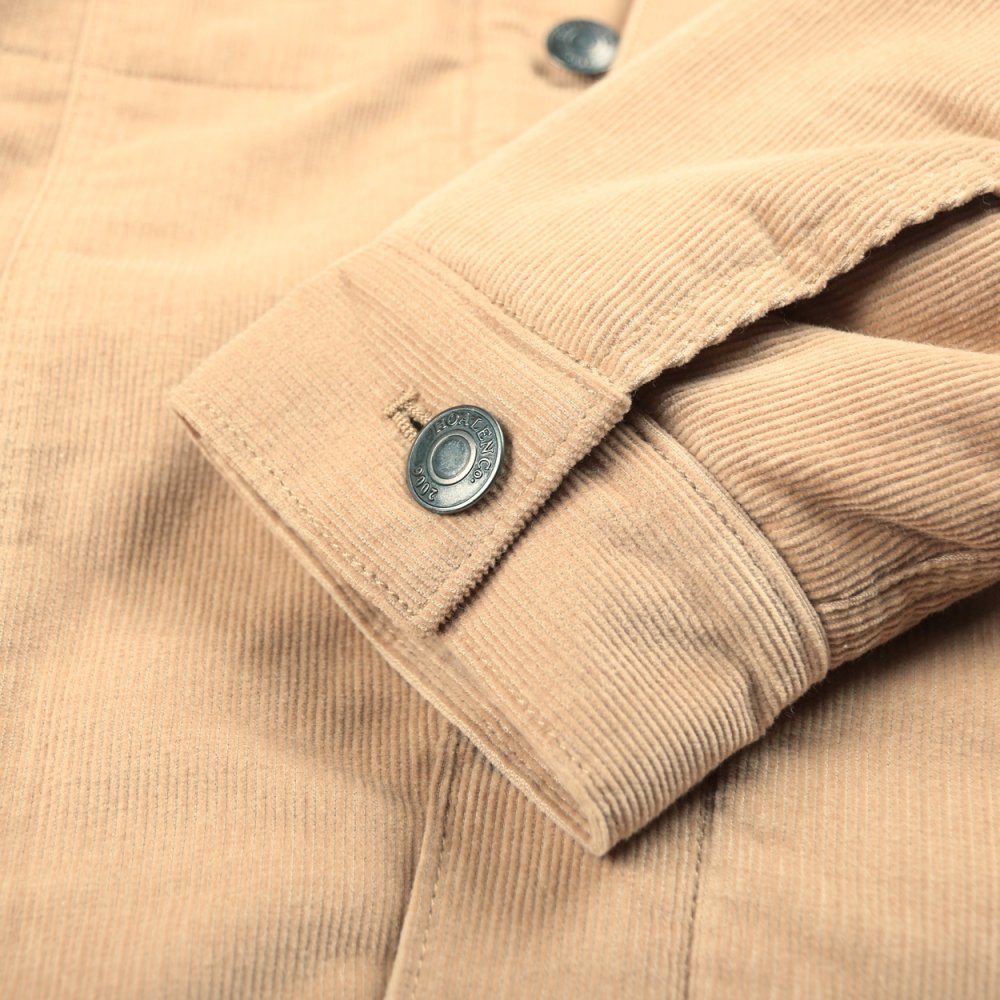 Insulated lined corduroy