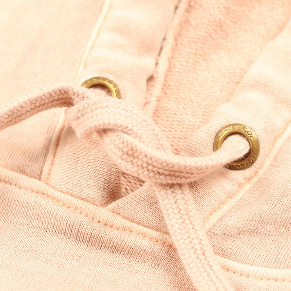 Slub fleece, 100% cotton