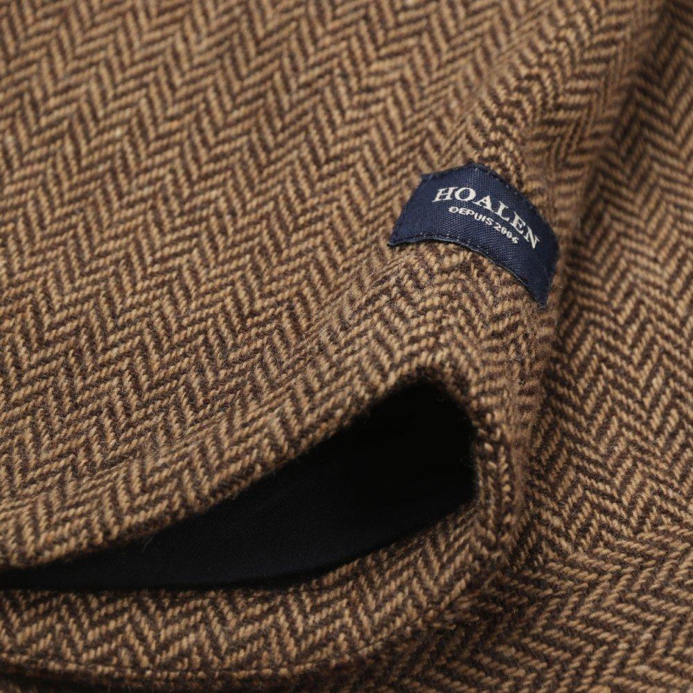 Tweed épais doublé