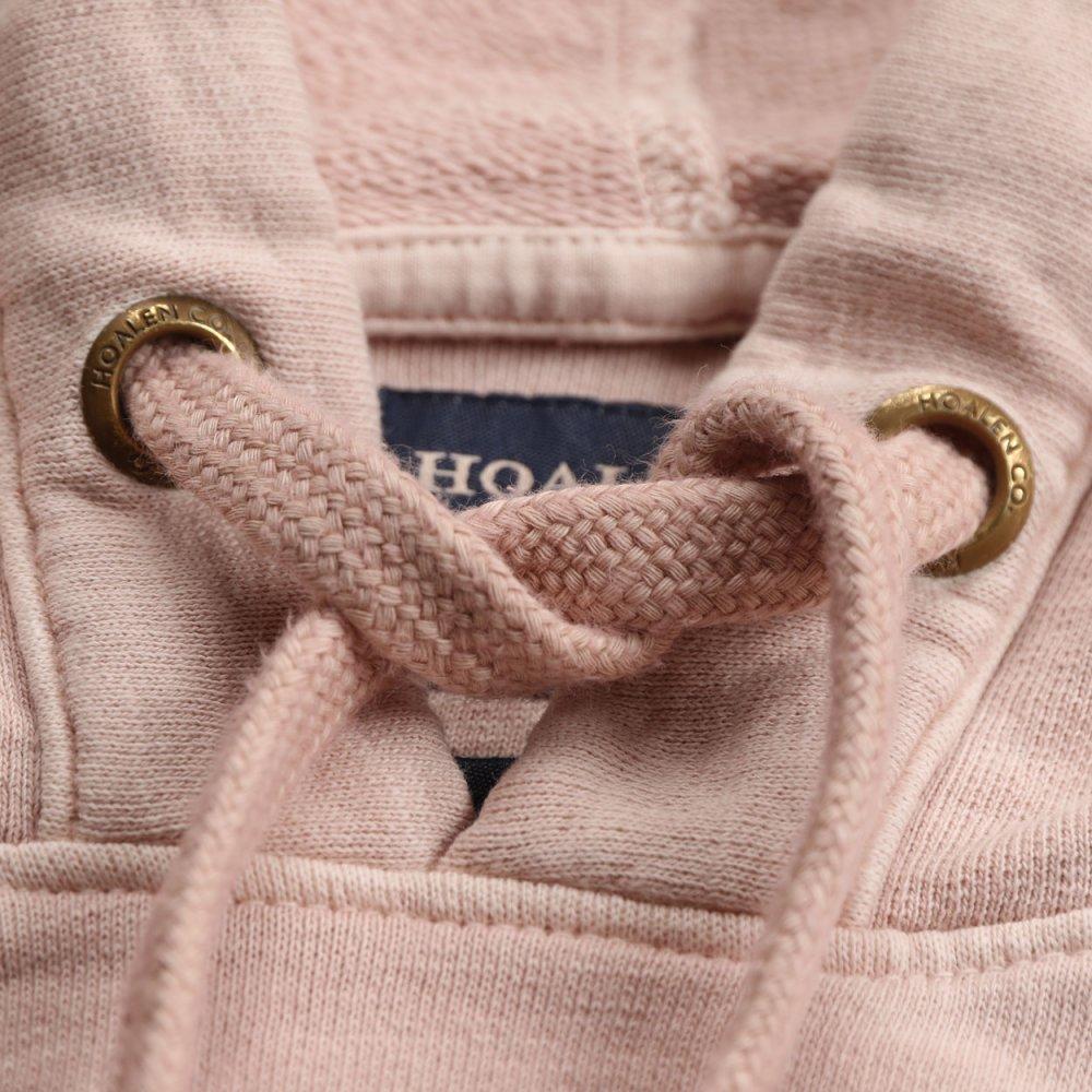 Slub fleece, 100% cotton