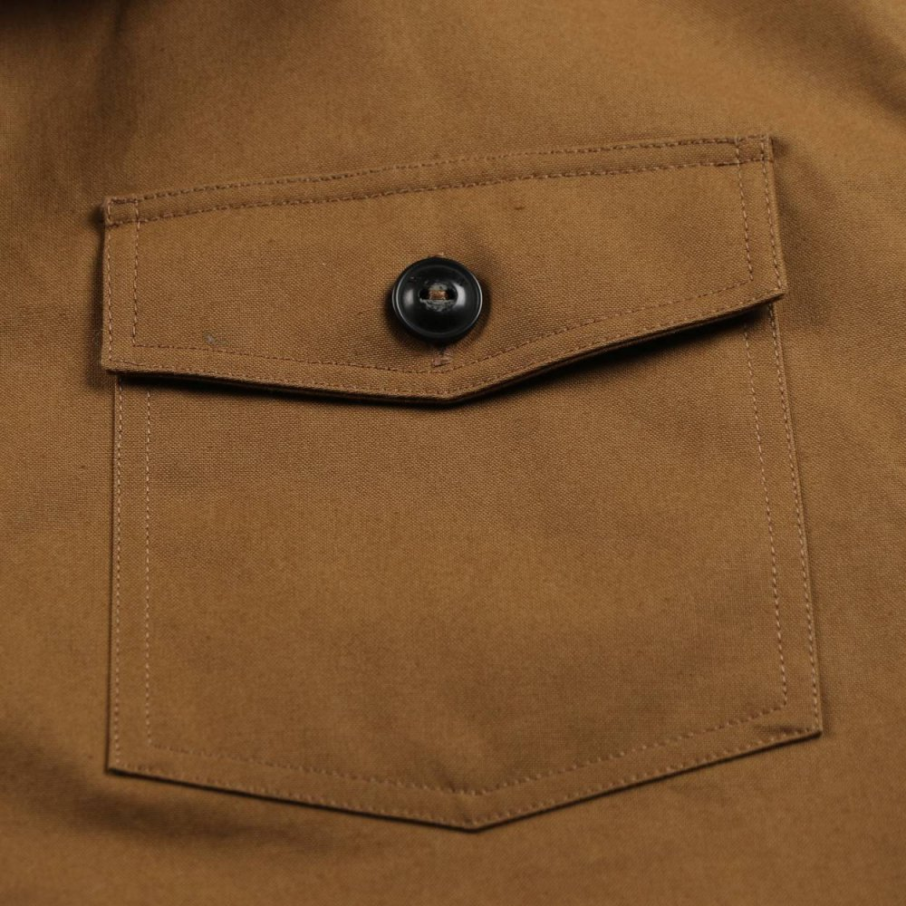 Slightly wax coated heavy weight cotton twill
