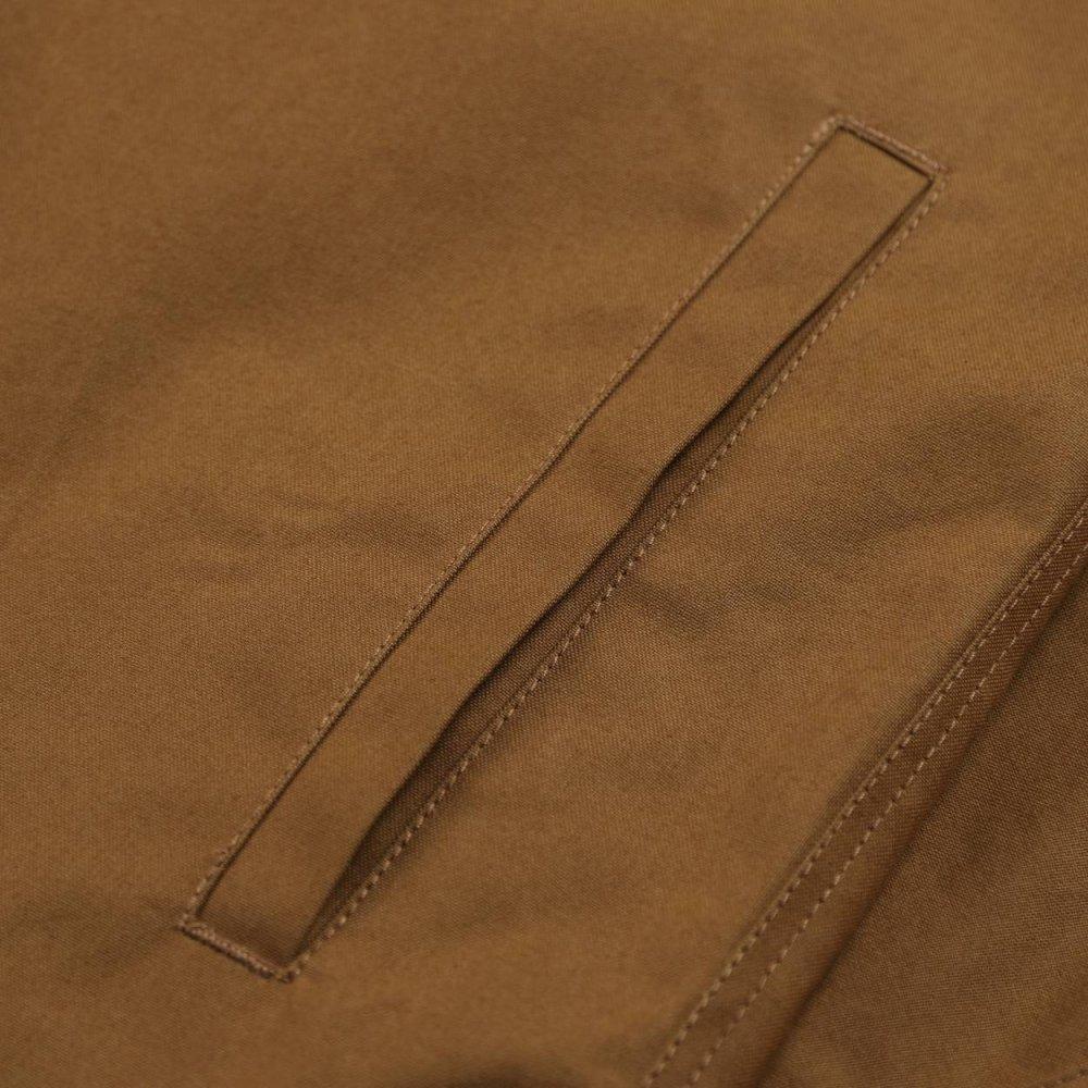 Wax coated twill