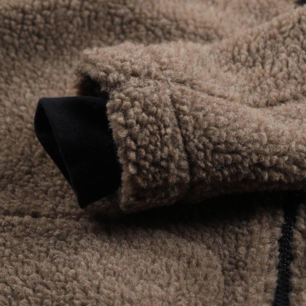 Italian polar fleece 27% Wool