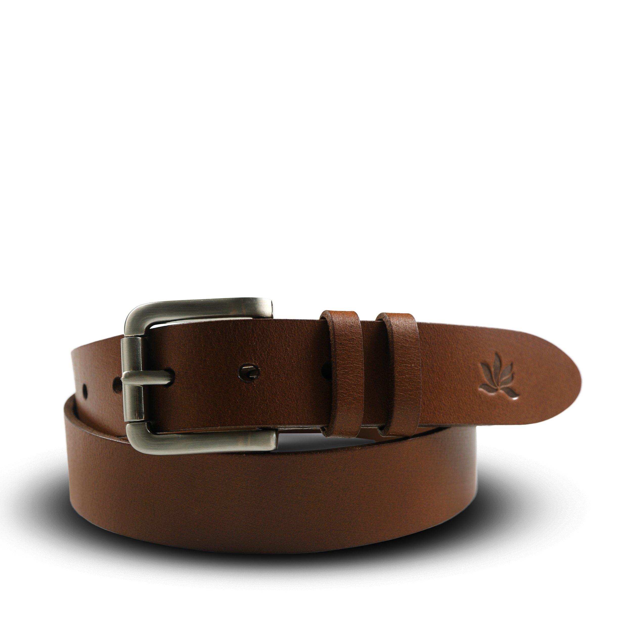 Heavy leather