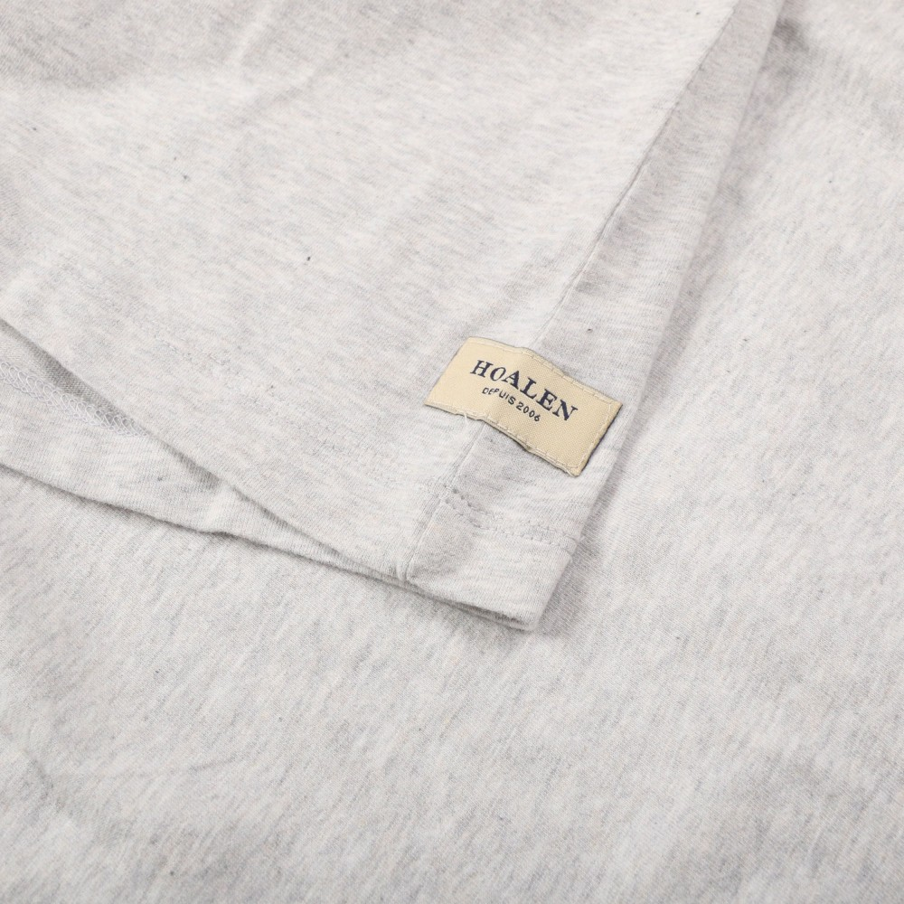 Buttoned coton tee