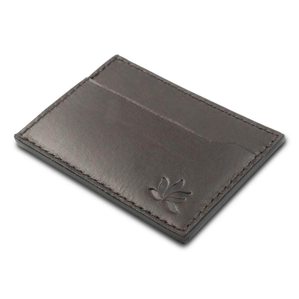 Porte-cartes cuir