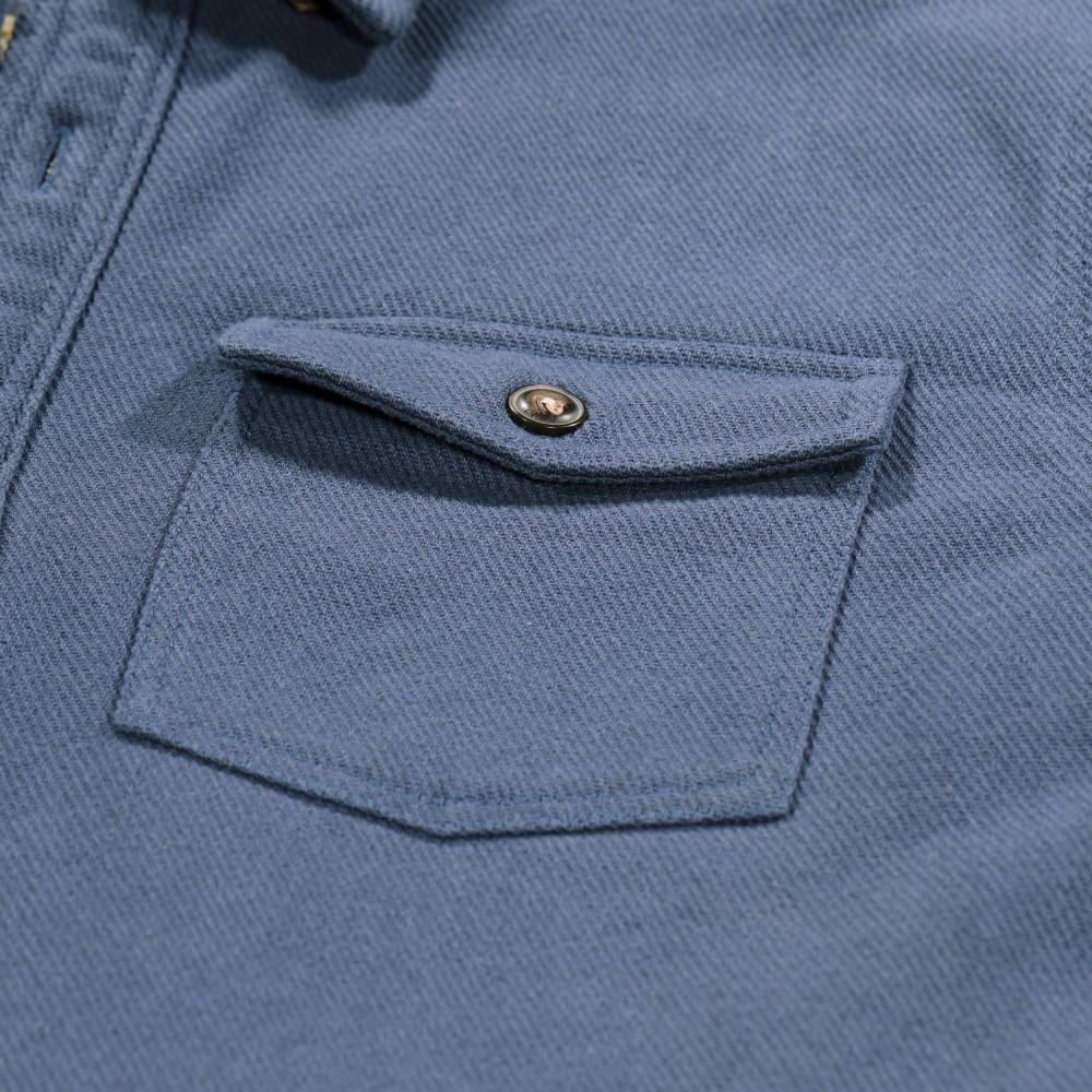 Lined overshirt