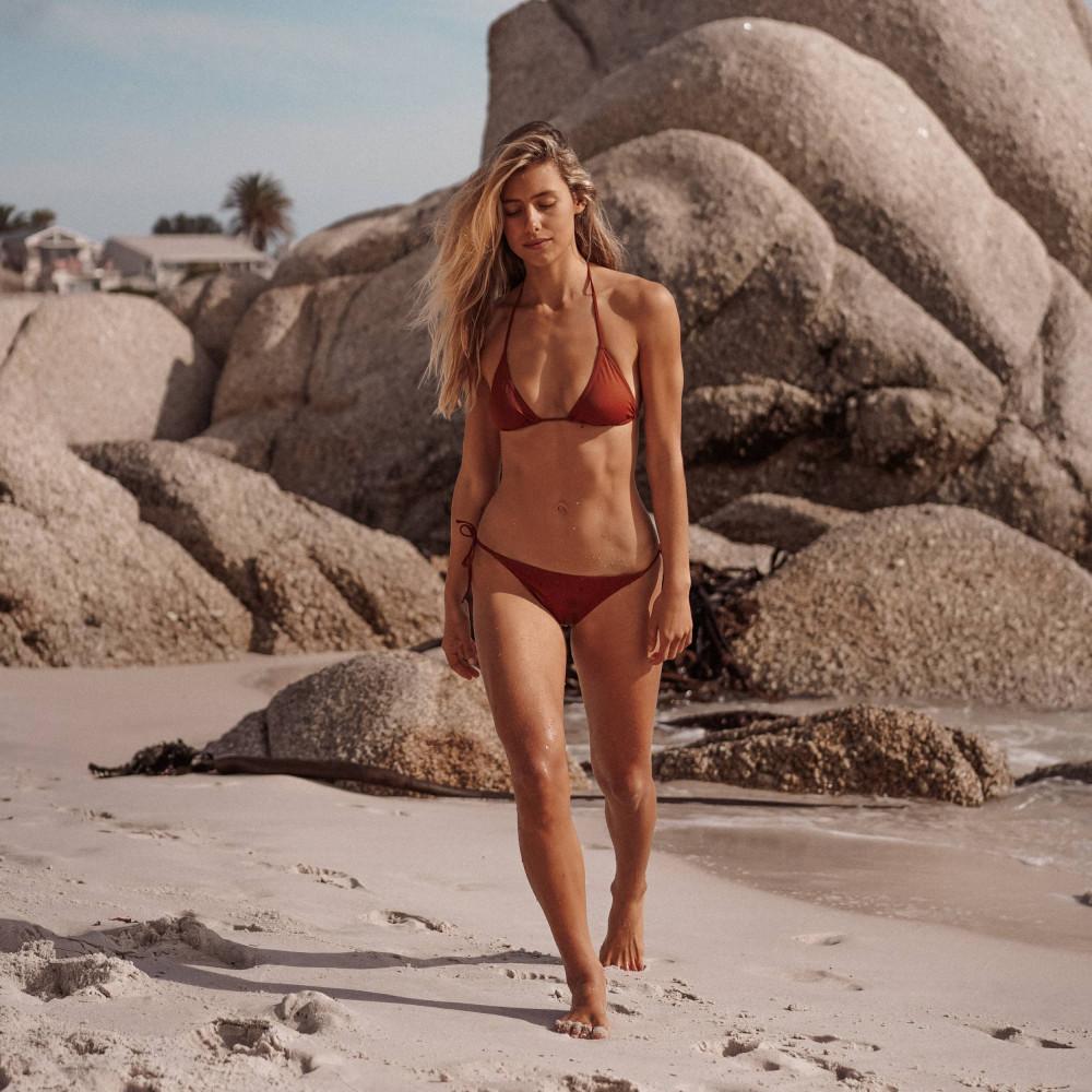 Knotted bikini